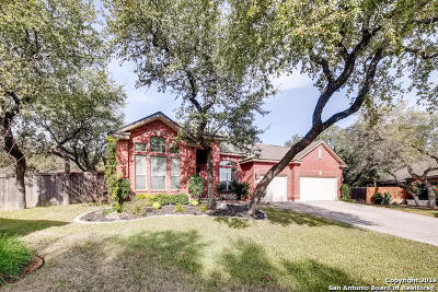 Helotes Single Family Home Active Option: 9619 French Stone