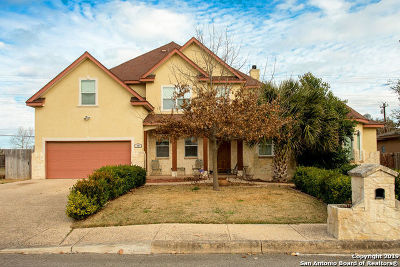 Boerne Single Family Home New: 126 Bird Song