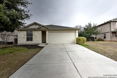 Schertz Single Family Home New: 705 Hollow Ridge