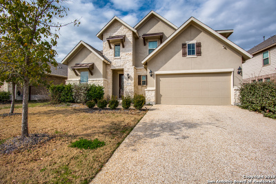 Bulverde Single Family Home New: 32137 Tamarind Bend