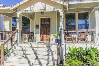 San Antonio Single Family Home For Sale: 127 Montclair Ave
