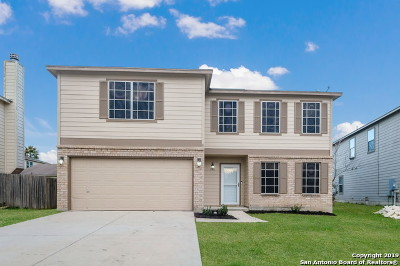 Cibolo Single Family Home New: 208 Hinge Loop