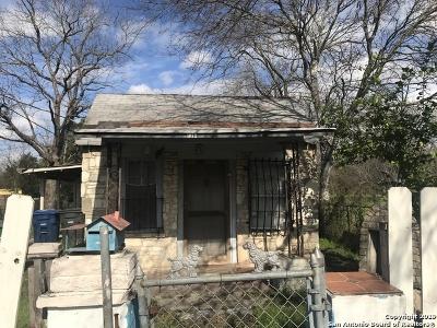 San Antonio Single Family Home Back on Market: 1341 Essex St
