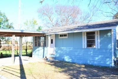 San Antonio Single Family Home Active Option: 342 Alice Fay Ave