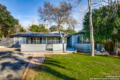 San Antonio Single Family Home New: 215 E Sunset Rd