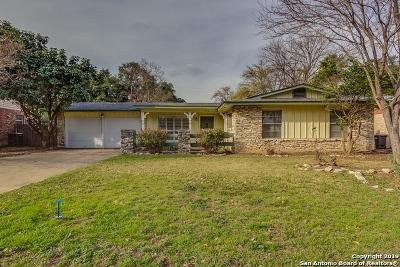 San Antonio TX Single Family Home Back on Market: $177,000