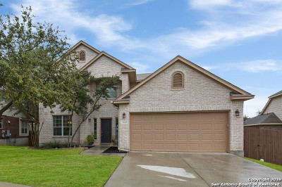 Helotes Single Family Home Active Option: 14622 Los Lunas Rd