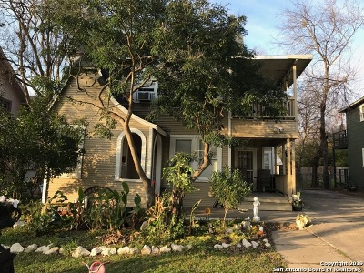 San Antonio Multi Family Home Back on Market: 1015 W Mistletoe Ave