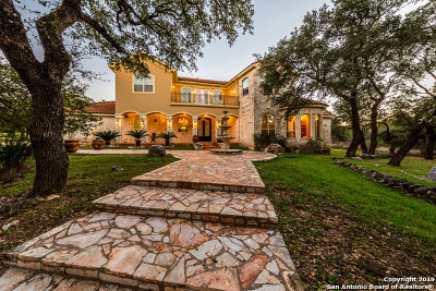 San Antonio Single Family Home New: 22439 Old Fossil Rd