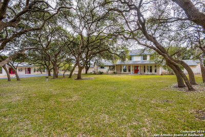 Boerne Single Family Home Active Option: 107 Scheele Rd