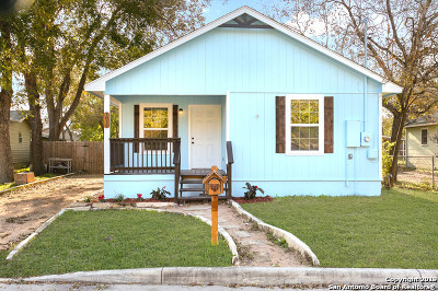 New Braunfels Single Family Home Back on Market: 1819 W Bridge St