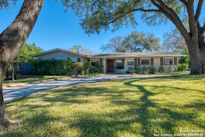 San Antonio Single Family Home New: 134 E Brandon Dr