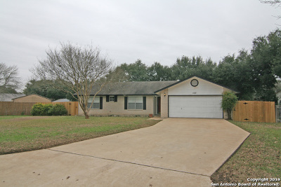 Castroville Single Family Home New: 107 Summer Breeze