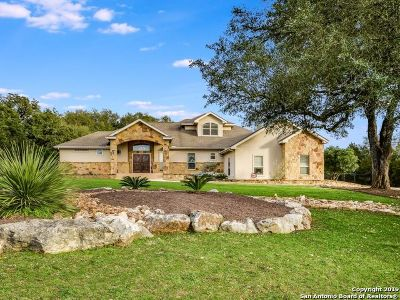 New Braunfels Single Family Home Active Option: 9907 Kopplin Rd