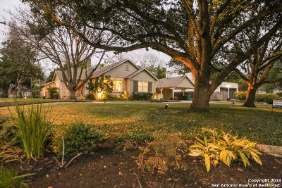 Alamo Heights Single Family Home For Sale: 102 Nacogdoches Rd
