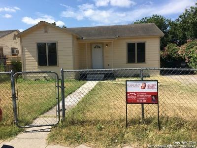 San Antonio Single Family Home New: 3138 W Gerald Ave