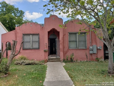 San Antonio Single Family Home Active Option: 640 W Kings Hwy