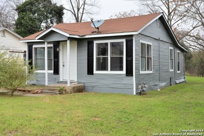 San Antonio Single Family Home New: 3123 Hicks Ave