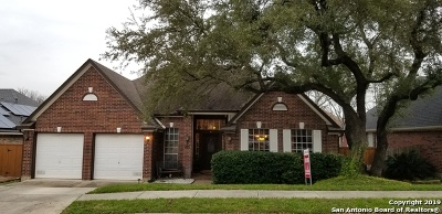 San Antonio Single Family Home For Sale: 13018 Rambling Oak
