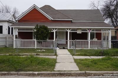 San Antonio Single Family Home New: 819 Delaware St
