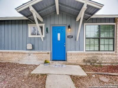 San Antonio Single Family Home New: 127 Bonanza Dr