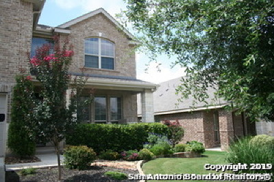 Boerne Single Family Home New: 8535 Dana Top Dr