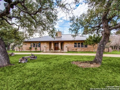 Boerne Single Family Home New: 117 Saddle View Dr