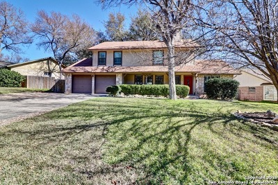 San Antonio Single Family Home Active Option: 2651 Pebble Bow