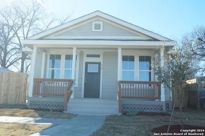 San Antonio Single Family Home New: 330 Joe Blanks St