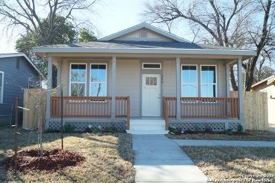 San Antonio Single Family Home New: 306 Joe Blanks St