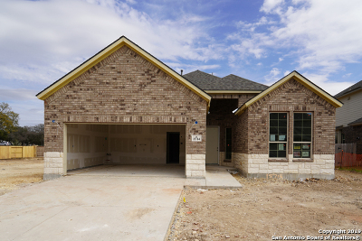San Antonio Single Family Home New: 15714 La Subida Trail