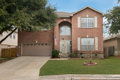 Bexar County Single Family Home New: 11851 Barkston Dr