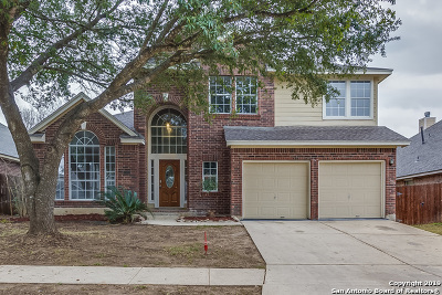 San Antonio Single Family Home New: 12206 Hart Crest