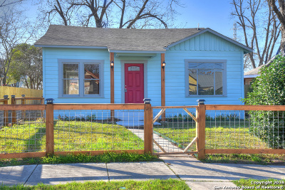 San Antonio Single Family Home New: 1123 Pine St