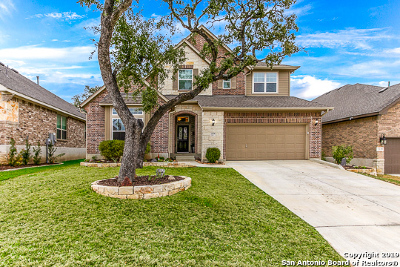 San Antonio Single Family Home New: 2135 Silent Fox