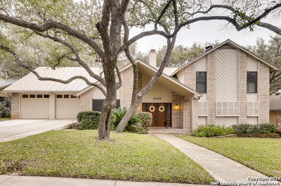 San Antonio Single Family Home New: 3206 Swandale Dr
