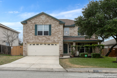 San Antonio Single Family Home New: 1022 Cougar Country