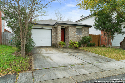 San Antonio Single Family Home New: 12114 Stoney Cove