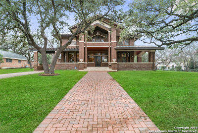 San Antonio Single Family Home For Sale: 117 E Summit Ave