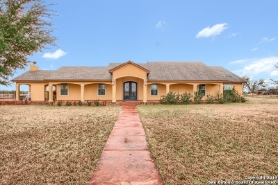 San Antonio Single Family Home New: 19775 Applewhite Rd