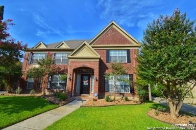 San Antonio Single Family Home New: 13807 Shavano Ridge