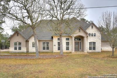 Bulverde Single Family Home New: 1120 Glenwood Loop
