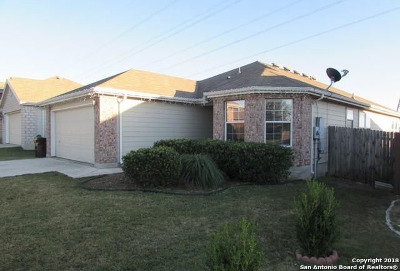 Schertz Single Family Home New: 3604 Whisper Trace
