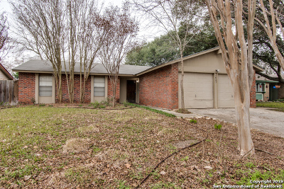 San Antonio Single Family Home New: 5863 Cliff Path