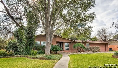 San Antonio Single Family Home New: 1511 Haskin Dr