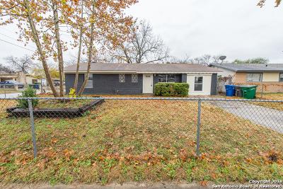 San Antonio Single Family Home New: 7402 Westfield Blvd