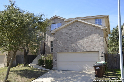 San Antonio Single Family Home New: 1523 Alaskan Wolf