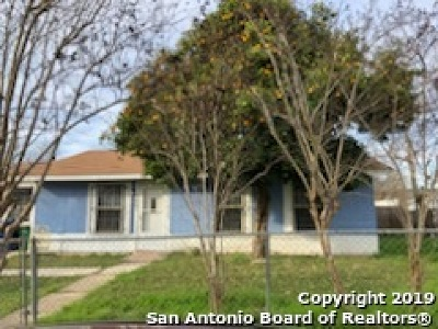 San Antonio Single Family Home New: 5407 Indian Desert St
