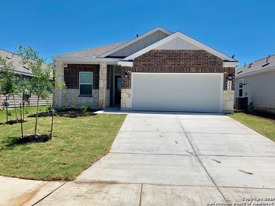 San Antonio Single Family Home New: 8516 Lamus Wheel
