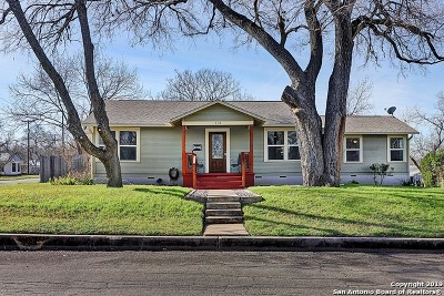 New Braunfels Single Family Home New: 410 S Santa Clara Ave